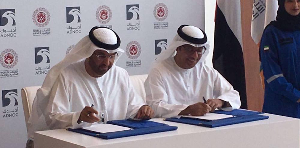 Sponsor Signing - ADNOC