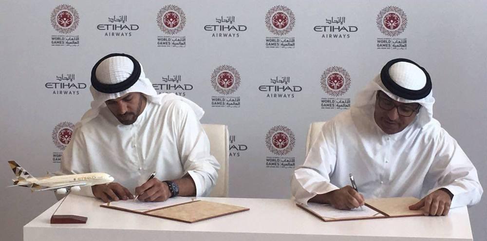Sponsor Signing - Etihad