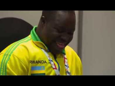 SENEGAL'S MAME NDIAGNE NDIAYE HEARS FOR THE FIRST TIME
