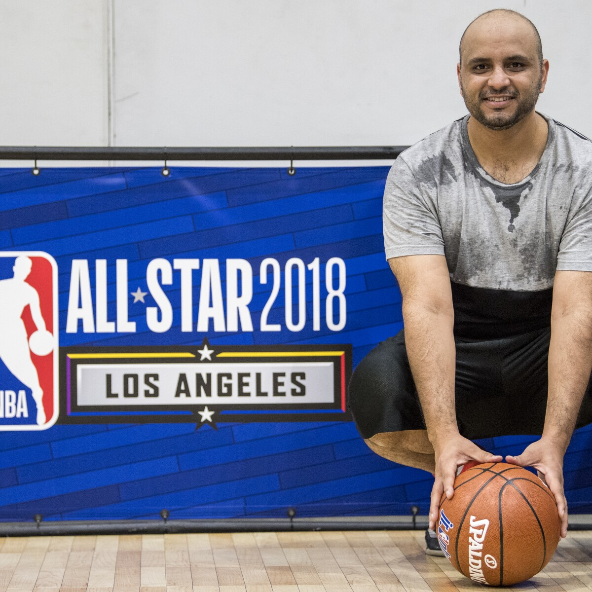 Butti Al Sheezawi Travels To Los Angeles For NBA All Star