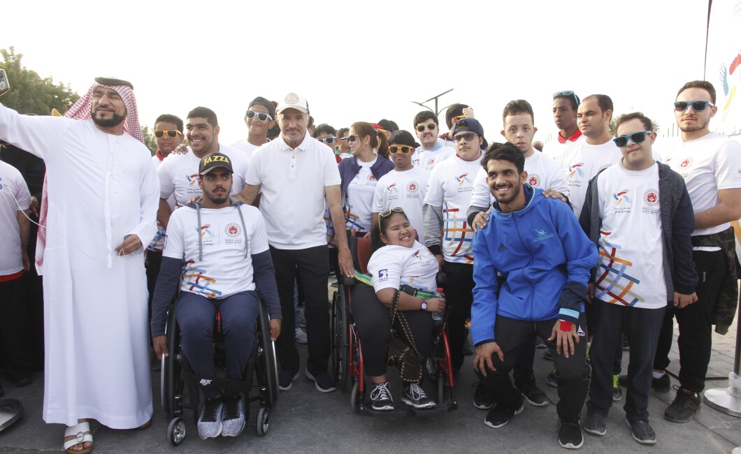 Special Olympics World Games Pre-Games Event - Walk Unified Dubai