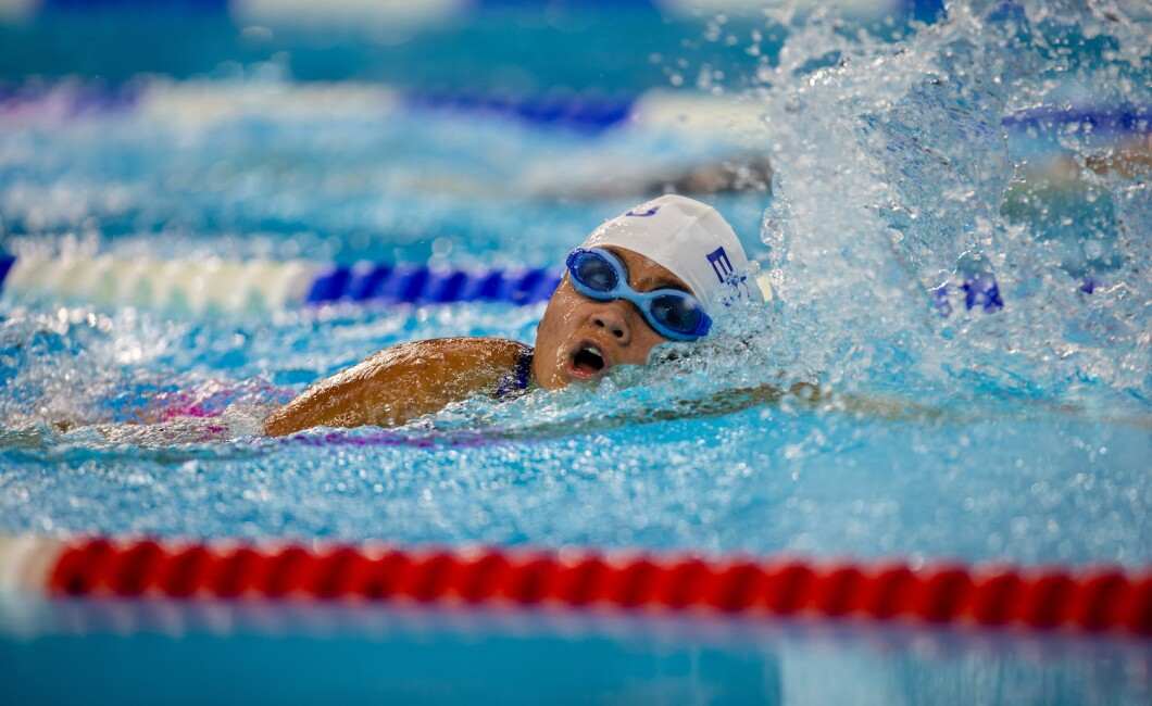 Selection of photos from the 4x25M Freestyle Relay Swimming Competition held at Hamdan Sports Complex, Dubai
