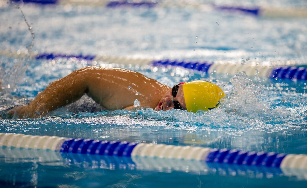 200m Freestyle Swimming Competition