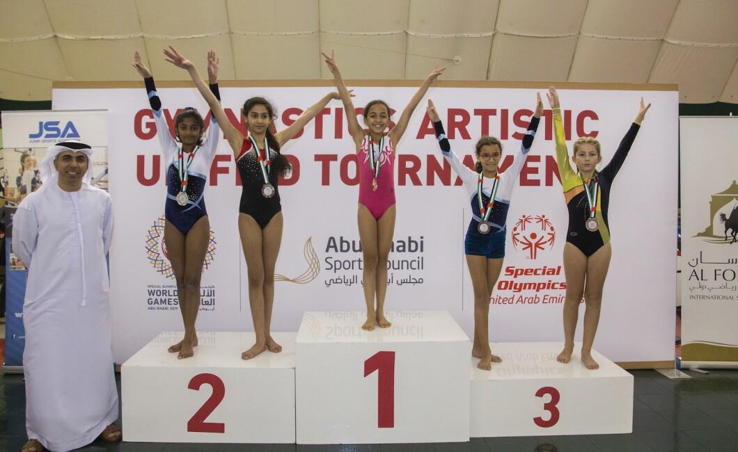 gymnastics artistic unified tournament