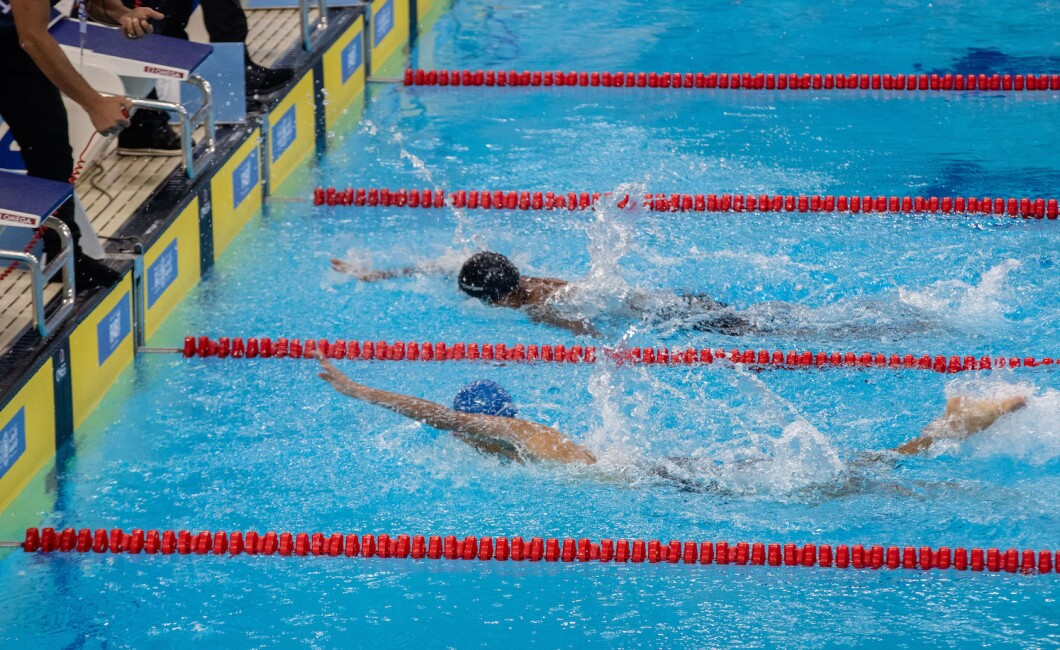 Selection of photos from the 50M Freestyle Swimming Competition held at Hamdan Sports Complex, Dubai