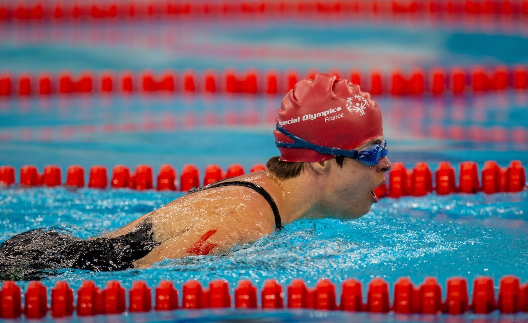 Selection of photos from the 50M Breaststroke Swimming Competition held at Hamdan Sports Complex, Dubai