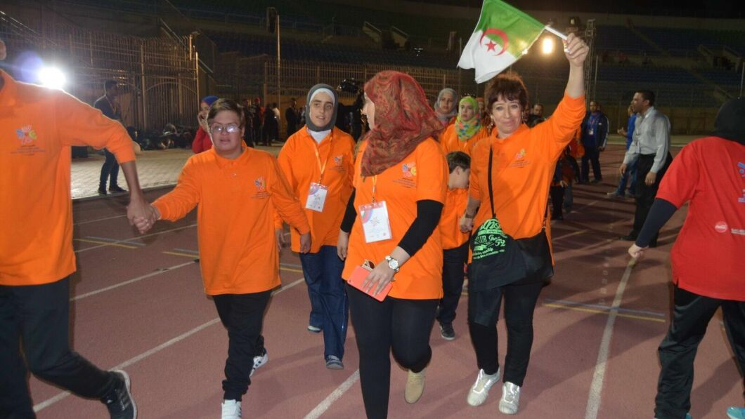 algeria delegation MENA games