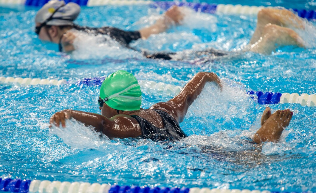 Selection of photos from the 25M Butterfly Swimming Competition held at Hamdan Sports Complex, Dubai