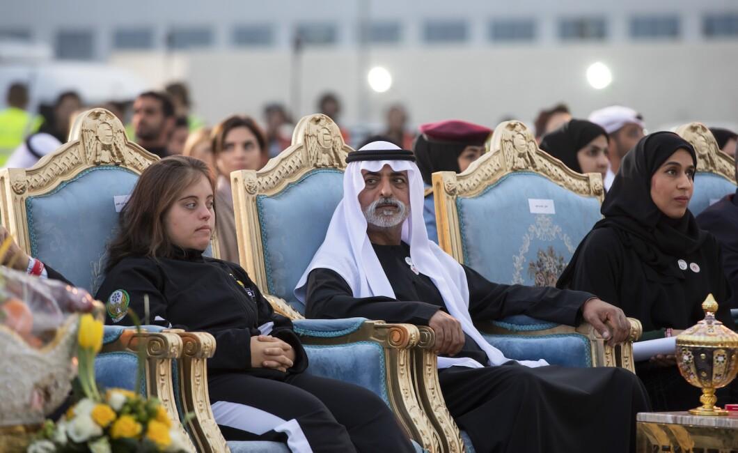 OLYMPIC FLAME ARRIVAL IN ABU DHABI