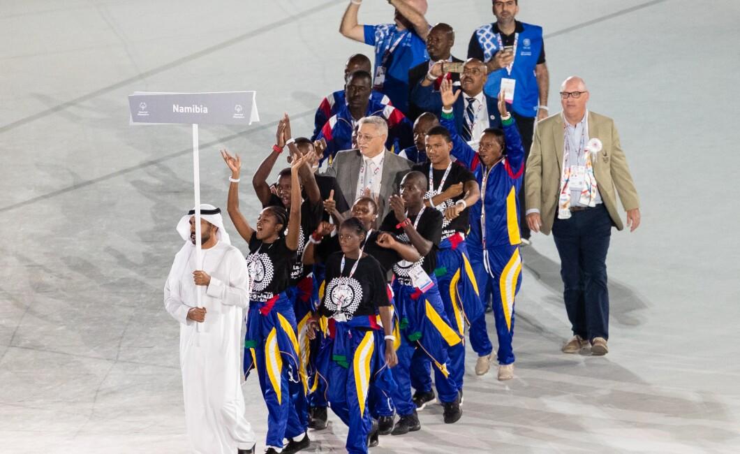 Special Olympics World Games Abu Dhabi 2019 Athletes Parade