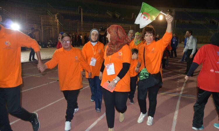 algeria delegation MENA games