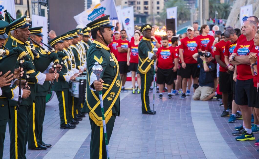LAW ENFORCEMENT TORCH RUN UAE FINAL LEG - DUBAI