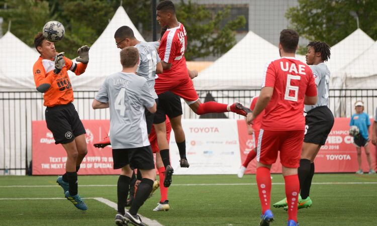 87bff11c15de77 Special Olympics UAE s Unified Cup team make semi-finals in Chicago