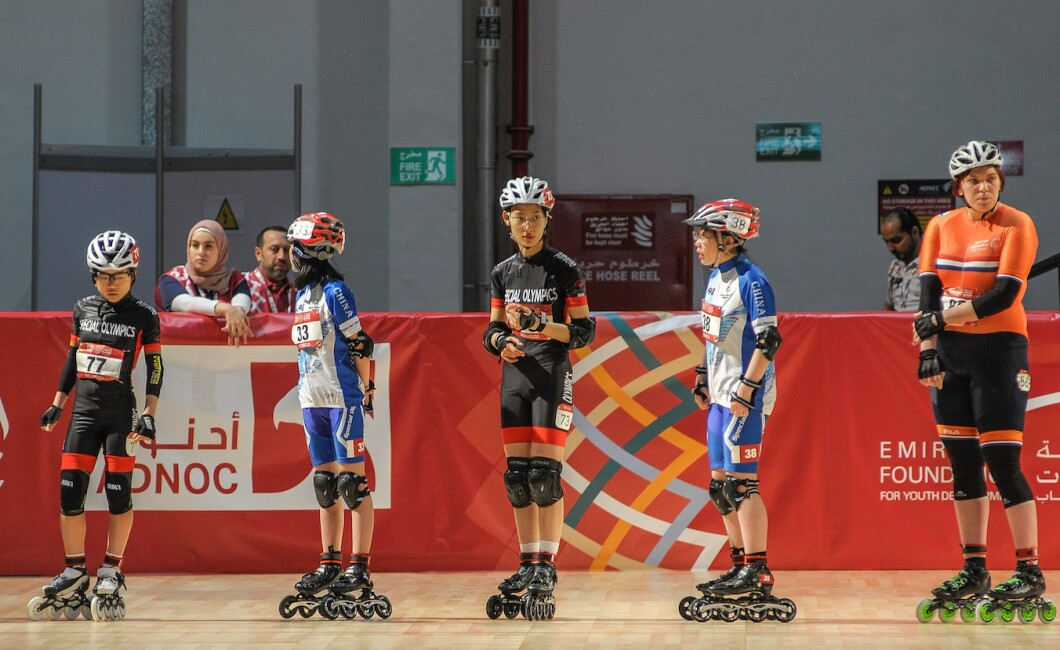 SPORTS COMPETITION - ROLLERSKATING
