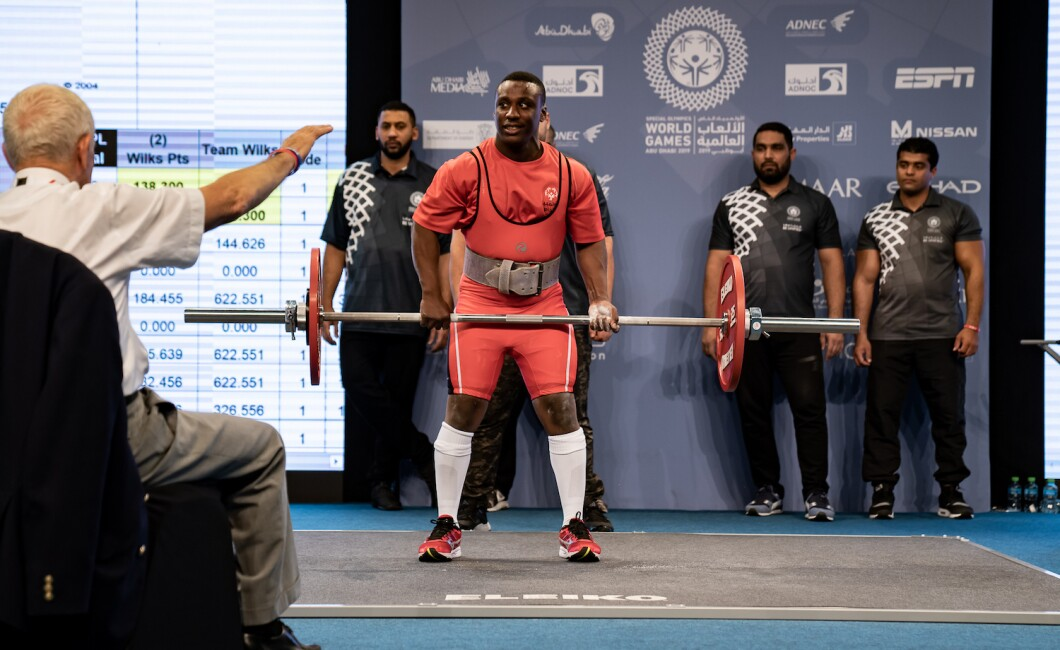 sports competition - powerlifting