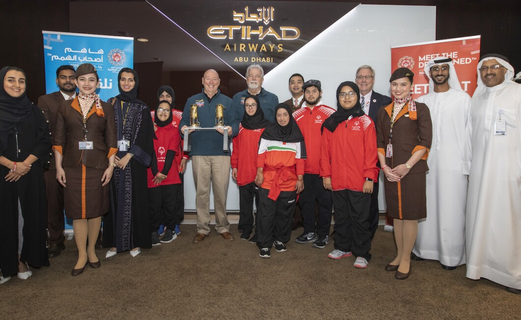 ETERNAL FLAME ARRIVAL - ABU DHABI
