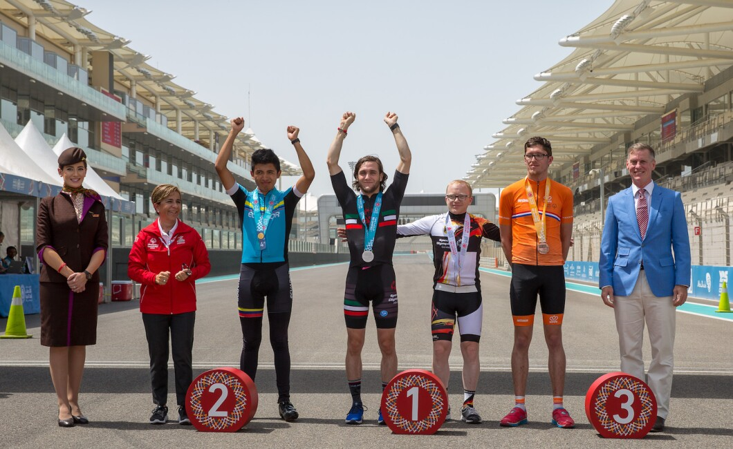 CYCLING AWARDING CEREMONIES