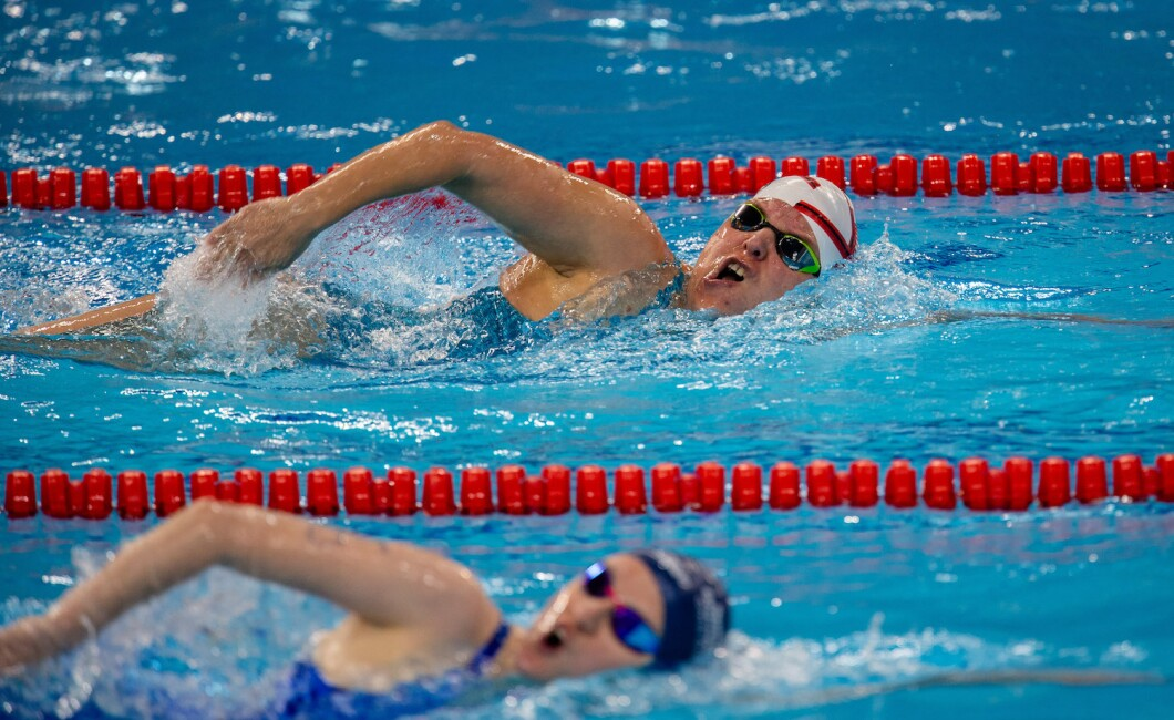 1500M Freestyle Swimming Competition