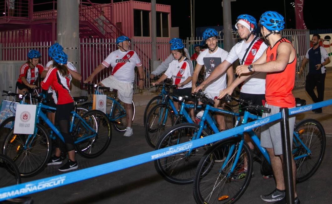 Cycle Unified at Yas Marina Circuit Abu Dhabi
