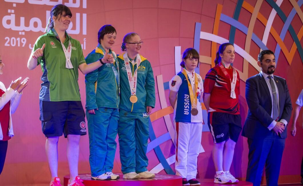 Awarding Ceremonies - Gymnastics