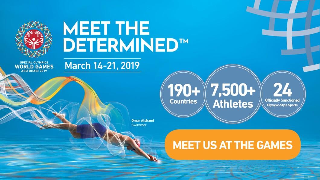 تسجيل مبدئي للأولمبياد الخاص الألعاب العالمية أبوظبي 2019